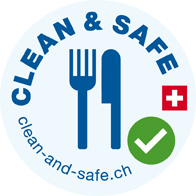 Clean and Safe, Gastronomie, Label, Hygiene