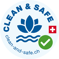 Clean and Safe, Spa, Wellness, Schwimmbaeder, Label, Hygiene