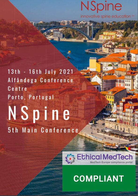 NSpine 5th Conference 2021 Porto, Portugal